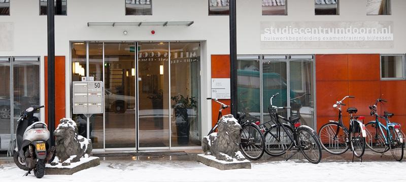 Galerij - Stuud in de sneeuw