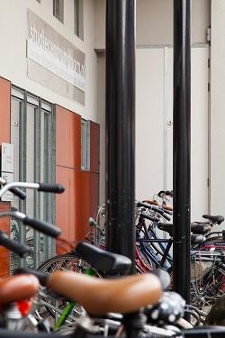 Galerij - fietsenrek
