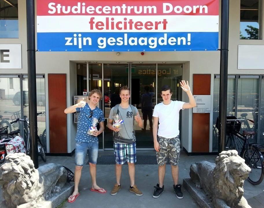 Geslaagd! Studiecentrum Doorn 2014-2015, foto 3