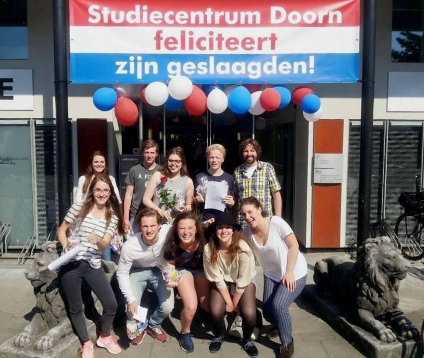 Groepje geslaagden Studiecentrum Doorn, 2014-2015