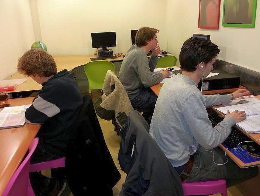 Huiswerk op Studiecentrum Doorn, 2014-2015, foto 4