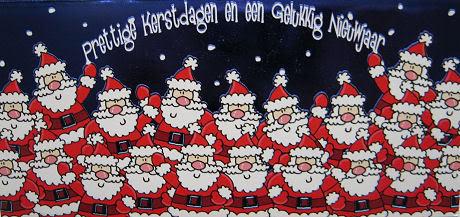 Kersvakantie, maar wel aanwezig voor informatie, vragen en eventuele ondersteuning.